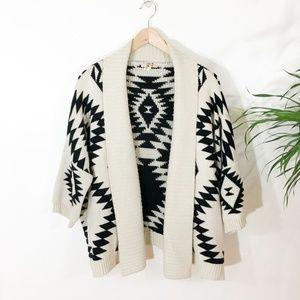 Sweaters - Aztec Sweater Cardigan